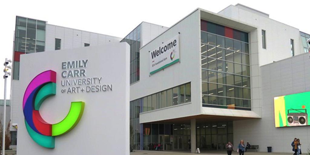 The Emily Carr University buildings